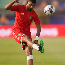 Youssef Ait Bennasser of Morocco during the African Cup of Nations match between South Africa and Morocco on July 1st, 2019. Photo : Ulrik Pedersen / Icon Sport