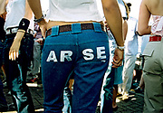 Arse Notting Hill Carnival London UK 2001