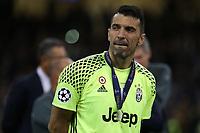 03.06.2017 - Cardiff - Finale di Champions League -  Juventus-Real Madrid nella  foto:  la delusione di Gianluigi Buffon