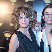 NLD/Hilversum/20180125 - Gouden RadioRing Gala 2017, Carolien Borgers en Eva Koreman