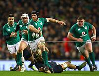 Rugby Union - 2017 Guinness Series (Autumn Internationals) - Ireland vs. Argentina<br /> <br /> Ireland's Sean O'Brien in action against Argentina's Marcos Kremer, at the Aviva Stadium.<br /> <br /> COLORSPORT/KEN SUTTON
