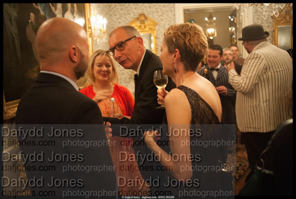 GRAHAME ARCHER; ALLISON PEARSON; NICK COHEN; ANNE-MARIE ELLIS, launch of Sophie Hannah's Agatha Christie ' The Monogram Murders ' at the Ritz London. 8 September 2014
