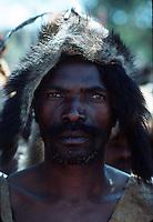A face in Ghana, Africa.
