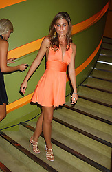 FRANCESCA VERSACE at a fashion show by ISSA held at Cocoon, 65 Regent Street, London on 21st September 2005.<br /><br />NON EXCLUSIVE - WORLD RIGHTS