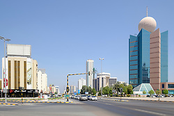 View of Fujairah city in United Arab Emirates