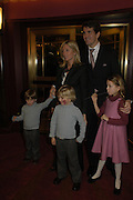 Princess Marie with Prince Pavlos of Greece. Mary Poppins Gala charity night  in aid of Over the Wall. Prince Edward Theatre. 14 December 2004. ONE TIME USE ONLY - DO NOT ARCHIVE  © Copyright Photograph by Dafydd Jones 66 Stockwell Park Rd. London SW9 0DA Tel 020 7733 0108 www.dafjones.com