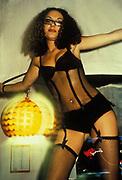Woman in underwear, 1999