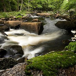 North Branch of the Contoocook River in Stoddard New Hampshire USA