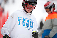 Francis Piche Invitational giant slalom for J5, J4, J3 at Gunstock March 17, 2012.