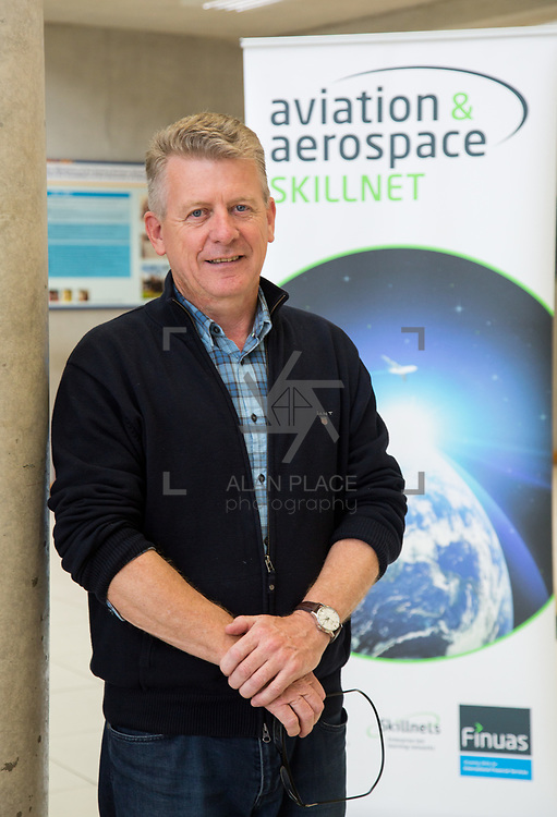 19.09.17.            <br /> Mike Byrt, Part M Aviation at the Continued Airworthiness &amp; Maintenance Management (Level 9, Specialist Diploma), Kemmy Business School, University of Limerick. Picture: Alan Place