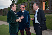 ROBERT WILSON; PETER PRENTICE; LAURENT LACASSAGNE,  Perdurity: A Moving Banquet of Time. Royal Salute curates a timeless evening at Hampton Court Palace with Marcos Lutyens, 2 June 2015.
