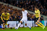 Leeds United forward Helder Costa (17), on loan from Wolverhampton Wanderers,  during the EFL Sky Bet Championship match between Leeds United and Millwall at Elland Road, Leeds, England on 28 January 2020.