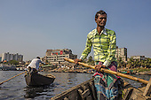 Boats on the Buriganga
