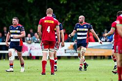 Joe Latta of Bristol Rugby looks on - Rogan/JMP - 05/08/2017 - RUGBY UNION - Cleve RFC - Bristol, England - Bristol Rugby v Harlequins - Pre-Season Friendly.