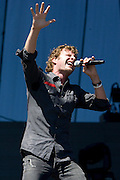 Saturday, August 2, 2008; Dierks Bentley performs at Lollapalooza 2008..Photo by Bryan Rinnert