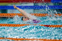 13-04-2018 NED: Swim Cup, Eindhoven<br /> Kira Toussaint wint de 100 meter rugslag