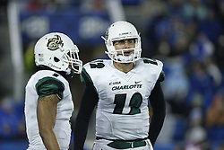 in the second quarter.<br /> <br /> The University of Kentucky hosted Charlotte, Saturday, Nov. 21, 2015 at Commonwealth Stadium in Lexington.