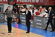 Pianigiani Simone<br /> FIAT Torino - AX Armani Exchange Milano<br /> Zurich Connect Supercoppa 2018 - Finale -<br /> Legabasket Serie A 2018-2019<br /> Brescia 29/09/2018<br /> Foto M.Matta/Ciamillo &amp; Castoria