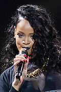 Rihanna in concert on her Diamonds World Tour, Vector Arena, Auckland, New Zealand, Sunday, October 06, 2013. Photo: David Rowland/Photosport.co.nz