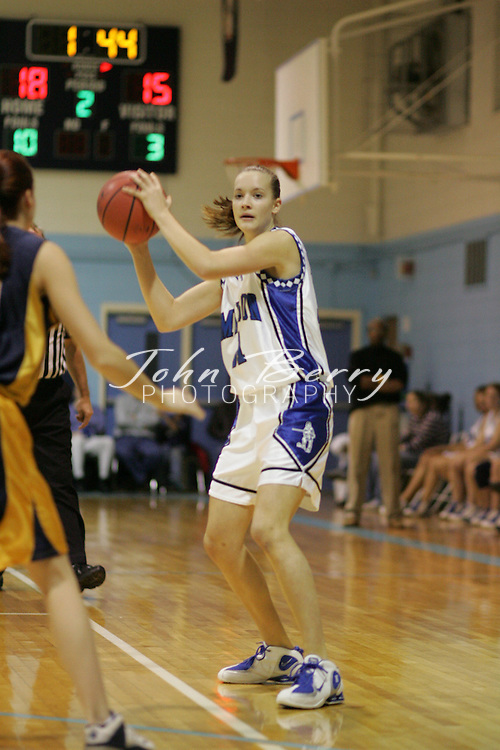 Page Tournament.Varsity Girls vs Rappahannock.Second Period.December 29, 2004
