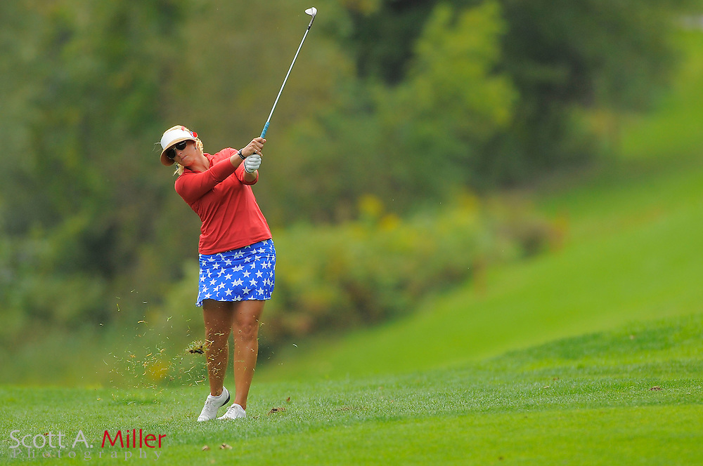 Ashley Prange during the final round of the LPGA Future Tour's Price Cooper Tour Championship at Capital Hills at Albany on Sept. 11, 2011 in Albany, N.Y...©2011 Scott A. Miller