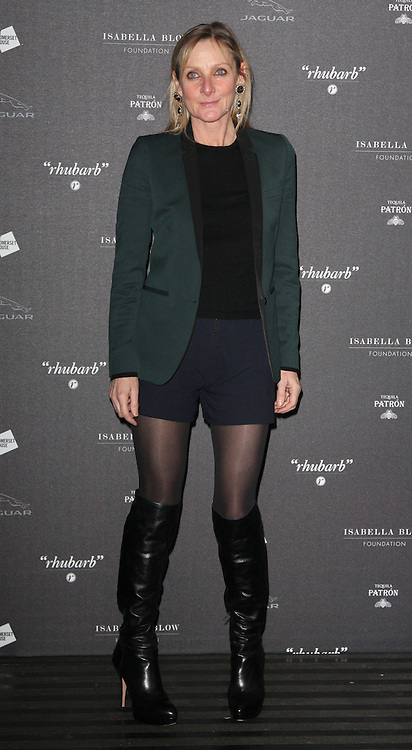 Lesley Sharp  arriving at the opening of the  Isabella Blow at the Isabella Blow exhibition at Somerset House in London, Tuesday, 19th November 2013   Photo by: i-Images