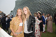 NATALIE HAND' S HAND;; OLYMPIA CAMPBELL;  JEAN CAMPBELL;, 2016 SERPENTINE SUMMER FUNDRAISER PARTY CO-HOSTED BY TOMMY HILFIGER. Serpentine Pavilion, Designed by Bjarke Ingels (BIG), Kensington Gardens. London. 6 July 2016