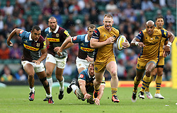 Will Hurrell of Bristol Rugby runs with the ball - Mandatory by-line: Robbie Stephenson/JMP - 03/09/2016 - RUGBY - Twickenham - London, England - Harlequins v Bristol Rugby - Aviva Premiership London Double Header