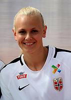 International Women's Friendly Matchs 2019 / <br /> Womens's Algarve Cup Tournament 2019 - <br /> China v Norway 1-3 ( Municipal Stadium - Albufeira,Portugal ) - <br /> Karina Saevik of Norway