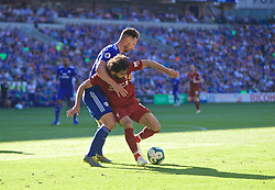 CARDIFF, WALES - Saturday, April 20, 2019: Liverpool's xxxx during the FA Premier League match between Cardiff City FC and Liverpool FC at the Cardiff City Stadium. (Pic by David Rawcliffe/Propaganda)