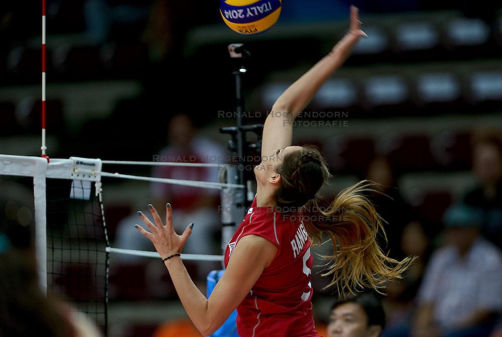 24-09-2014 ITA: World Championship Volleyball Rusland - Mexico, Verona<br /> Rusland wint met 3-0 / Andrea Rangel