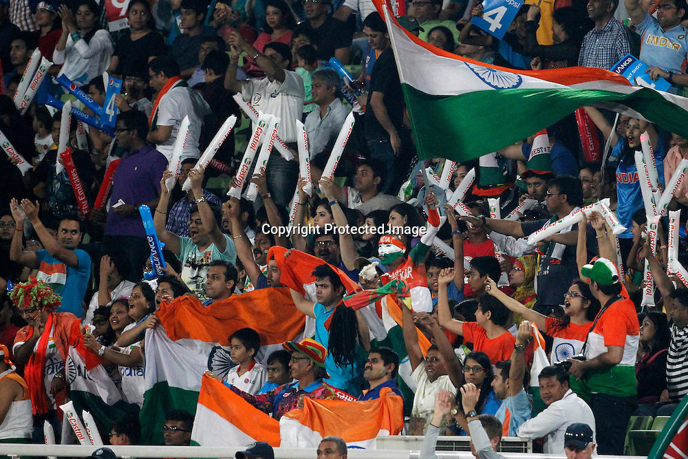 Indian Fans, ICC T20 cricket World Cup Final - Sri Lanka v India, Sher-e-Bangla National Cricket Stadium, Mirpur, Bangladesh, 6 April 2014. Photo: www.photosport.co.nz