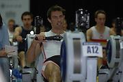 2005 British Indoor Rowing Championships, Competitors, Men's Lightweights,  Mark HUNTER, Rowing Machines, National Indoor Arena, Birmingham, ENGLAND,    20.11.2005  [Mandatory Credit Peter Spurrier/ Intersport Images]