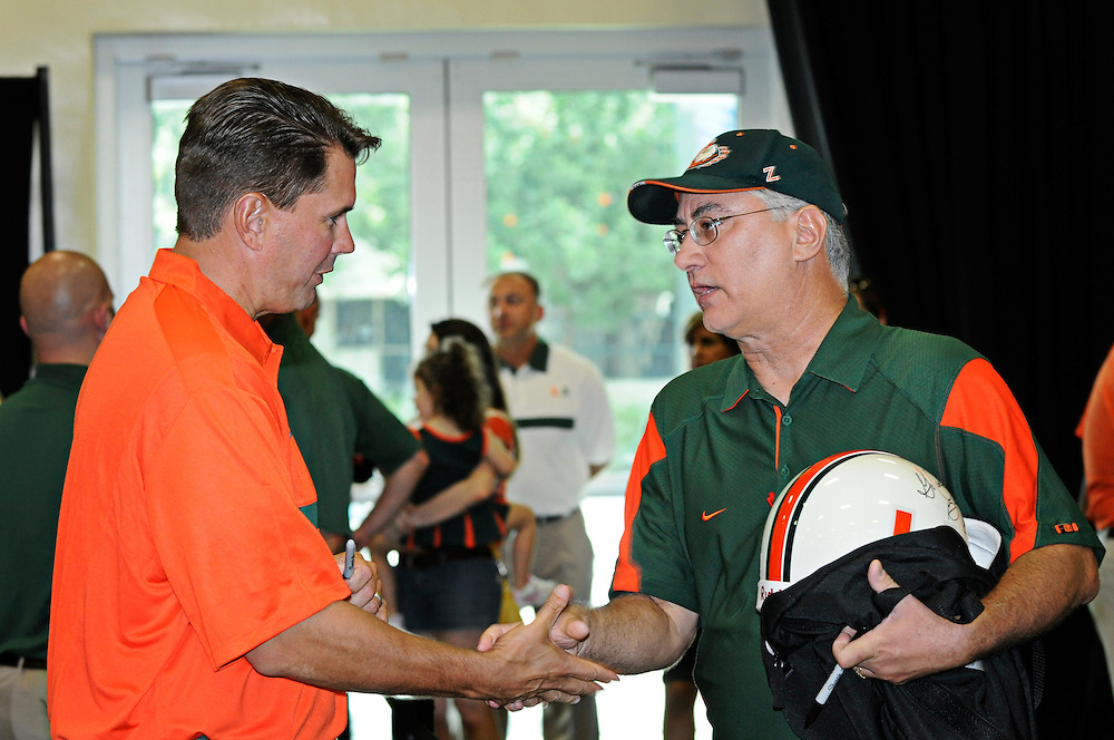 2011 Miami Hurricanes Football Photo Day - CanesFest