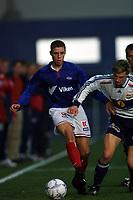Football. Treningskamp fotball 16. februar 2001. VIF Fotball-Strømsgodset. Freddy dos Santos, VIF Fotball. Foto: Digitalsport.