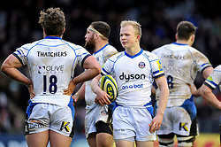 Will Homer of Bath Rugby - Photo mandatory by-line: Patrick Khachfe/JMP - Mobile: 07966 386802 31/01/2015 - SPORT - RUGBY UNION - London - The Twickenham Stoop - Harlequins v Bath Rugby - LV= Cup