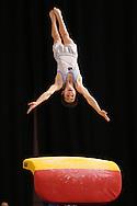 Vault, May 22, 2014 - GYMNASTICS : Australian National Gymnastics Championships, Hisense Arena, Melbourne, Victoria, Australia. Credit: Lucas Wroe / Winkipop Media