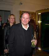 LOUISA BUCK; JAMES BIRCH, Damien Hirst party to preview his exhibition at Sotheby's. New Bond St. London. 12 September 2008 *** Local Caption *** -DO NOT ARCHIVE-© Copyright Photograph by Dafydd Jones. 248 Clapham Rd. London SW9 0PZ. Tel 0207 820 0771. www.dafjones.com.