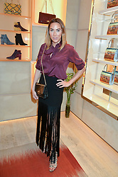 ALEX MEYERS at the Roger Vivier 'The Perfect Pair' Frieze cocktail party celebrating Ambra Medda & 'Miss Viv' at the Roger Vivier Boutique, Sloane Street, London on 15th October 2014.