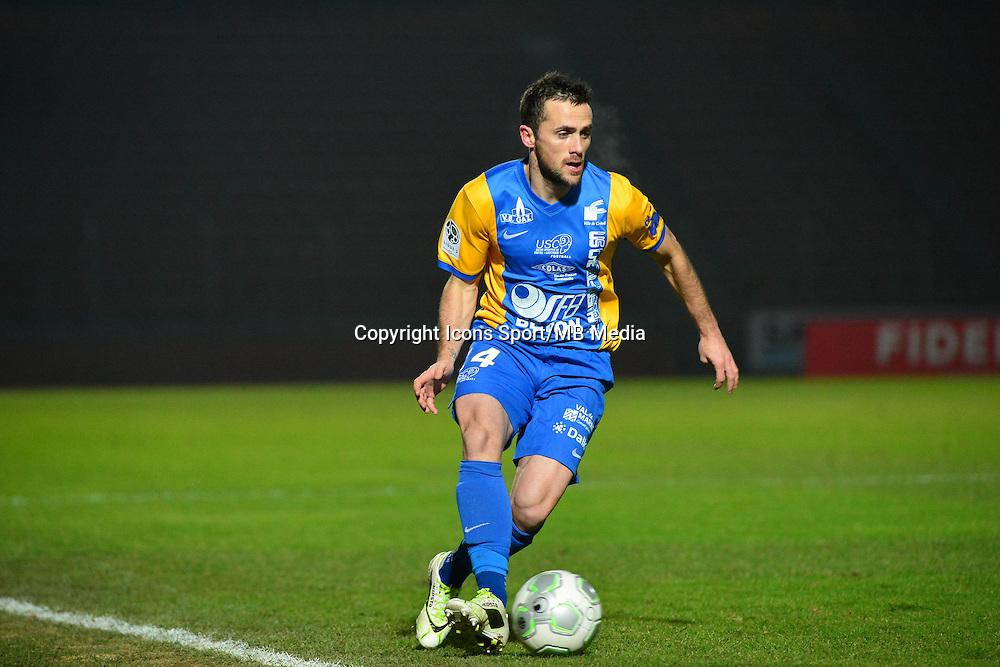 Mathieu LAFON - 23.01.2015 - Creteil / Laval - 21eme journee de Ligue 2<br /> Photo : Dave Winter / Icon Sport