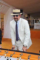 KEVIN SPACEY at the 2011 Veuve Clicquot Gold Cup Final at Cowdray Park, Midhurst, West Sussex on 17th July 2011.