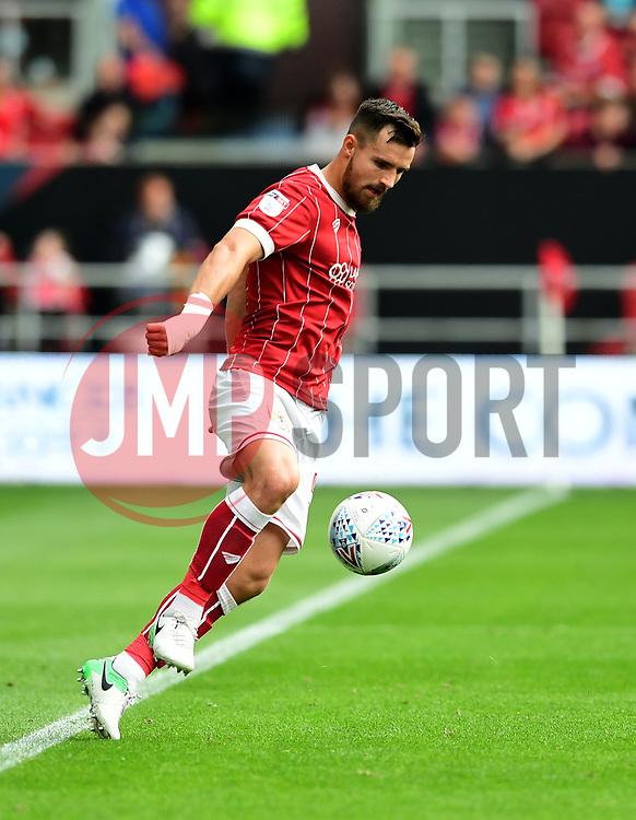 Bailey Wright of Bristol City  - Mandatory by-line: Joe Meredith/JMP - 16/09/2017 - FOOTBALL - Ashton Gate Stadium - Bristol, England - Bristol City v Derby County - Sky Bet Championship