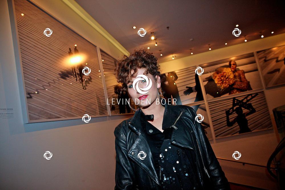 AMSTERDAM - In het nieuwe DeLaMar theater is de premiere van BNN Spuiten en Slikken de Musical gestart.  Met op de foto Eva van de Wijdeven. FOTO LEVIN DEN BOER - PERSFOTO.NU
