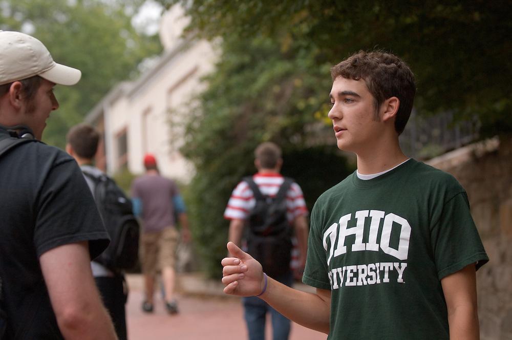 17805Campus Shots: Students..Jake Burke
