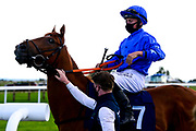 Poetic Force ridden by Tom Marquand and trained by Tony Carroll - Mandatory by-line: Dougie Allward/JMP - 10/07/2020 - HORSE RACING - Bath Racecourse - Bath, England - Bath Races