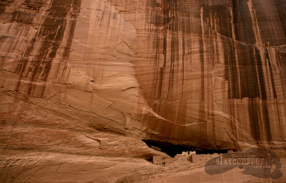 Photo by Gary Cosby Jr.  ..White House Ruin inside Canyon De Chelley National Monument near Chinle, Arizona.