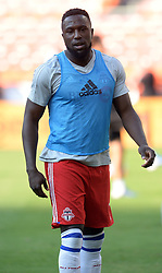 August 5, 2017 - Washington, DC, USA - 20170805 - Toronto FC forward JOZY ALTIDORE (17) warms up before an MLS match against D.C. United at RFK Stadium in Washington. (Credit Image: © Chuck Myers via ZUMA Wire)