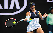 Kristie Ahn of the United States in action during her first round match at the 2020 Australian Open, WTA Grand Slam tennis tournament on January 20, 2020 at Melbourne Park in Melbourne, Australia - Photo Rob Prange / Spain ProSportsImages / DPPI / ProSportsImages / DPPI