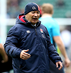 England head coach Eddie Jones - Mandatory by-line: Robbie Stephenson/JMP - 26/02/2017 - RUGBY - Twickenham Stadium - London, England - England v Italy - RBS 6 Nations round three