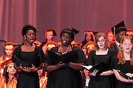 The Stivers School For The Arts Chamber Choir performs during their commencement at the Dayton Masonic Center, Saturday, May 19, 2012.